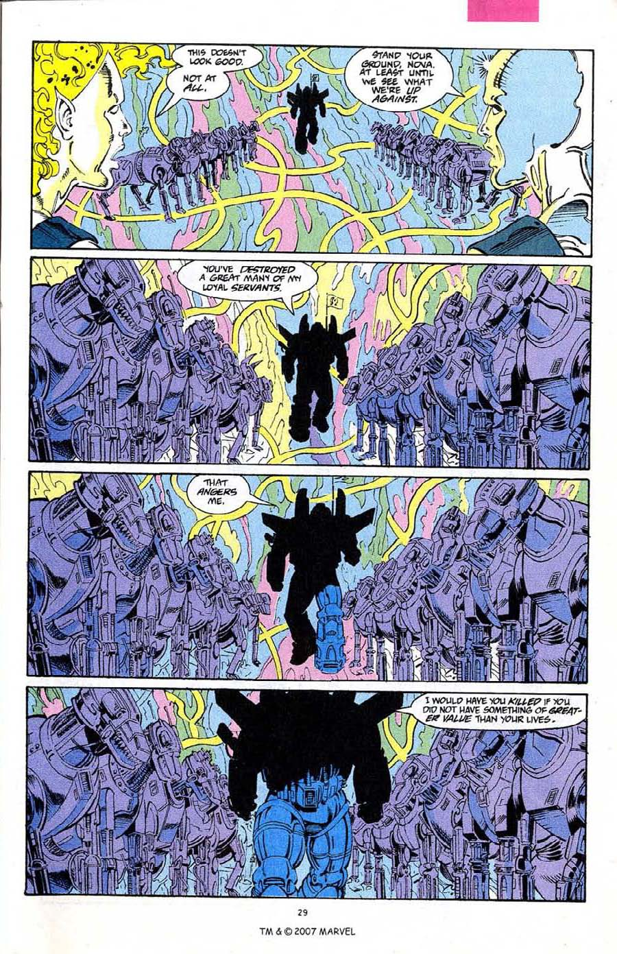 Read online Silver Surfer (1987) comic -  Issue #68 - 31
