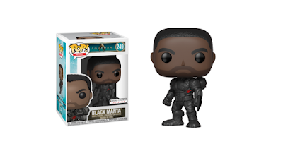 Regal Cinemas Exclusive Aquaman Movie Unmasked Black Manta Pop! Vinyl Figure by Funko x DC Comics