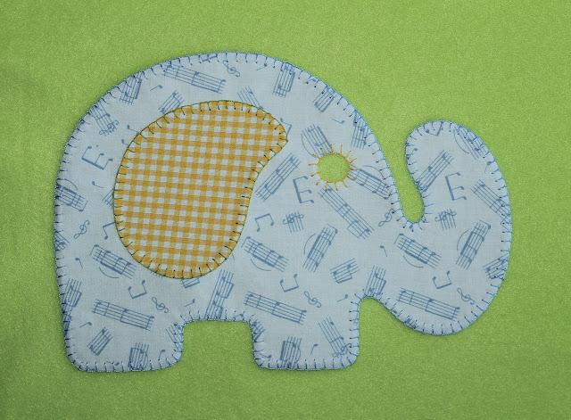 manta bebe elefante