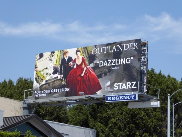Outlander Starz FYC Emmy 2016 billboard