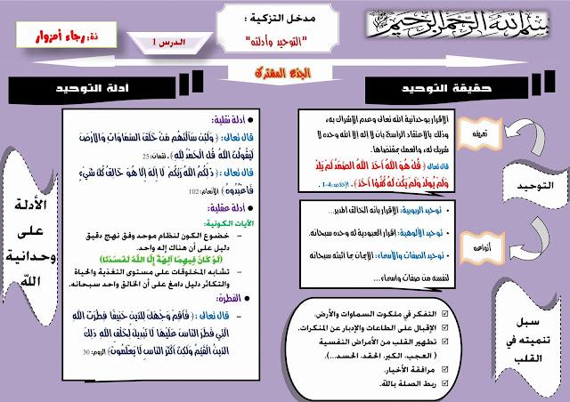 هام: لتلامذة الجذع المشترك...ملخصات الدروس الاربعةالاولى