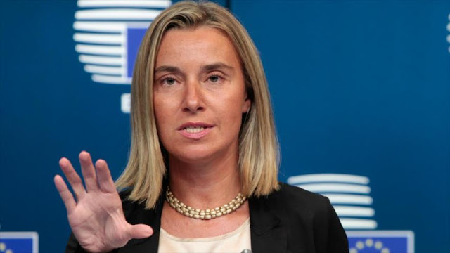 UE denuncia a Trump y apoya el pacto nuclear con Irán