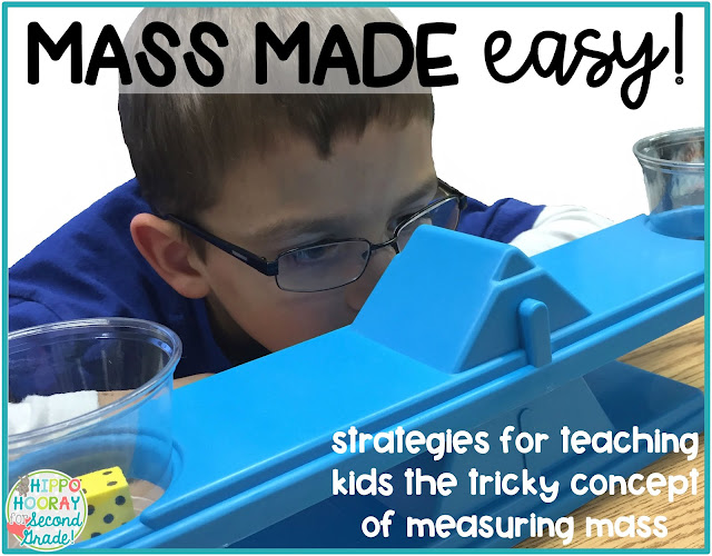 Mass Made Easy: Blog Post from Hippo Hooray for Second Grade.