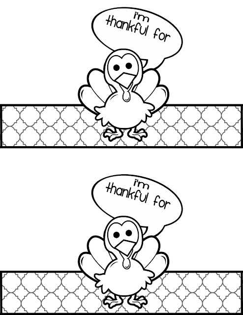 Thanksgiving coloring pages cards ~ Sassy Sanctuary: Turkey Place Card Printable- Kids Craft