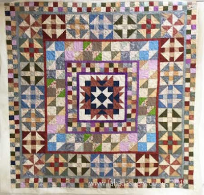 'Devon County' quilt, made by Margaret
