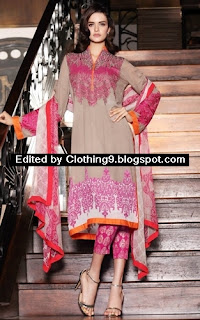 Firdous eid festive dress collection 2015