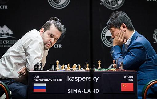 Ian Nepomniachtchi en tête du tournoi des candidats - Photo © FIDE
