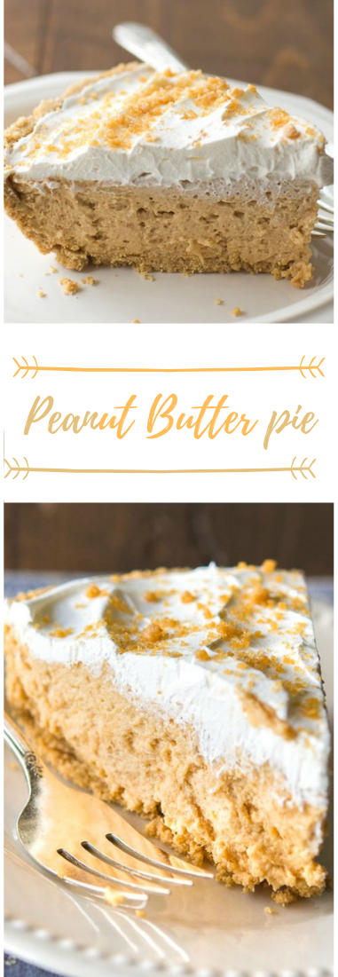PEANUT BUTTER PIE RECIPE #peanut