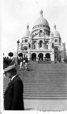 Le Sacré Cœur de Montmartre, Paris.