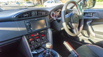 Interior Toyota 86 Indonesia