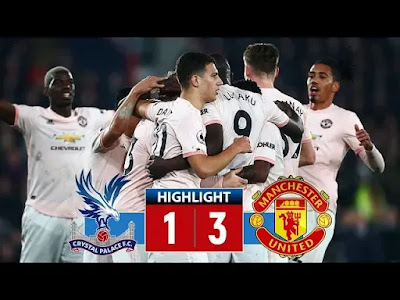 Crystal Palace vs Man United 1-3 Football Highlights and Goals 27/02/2019