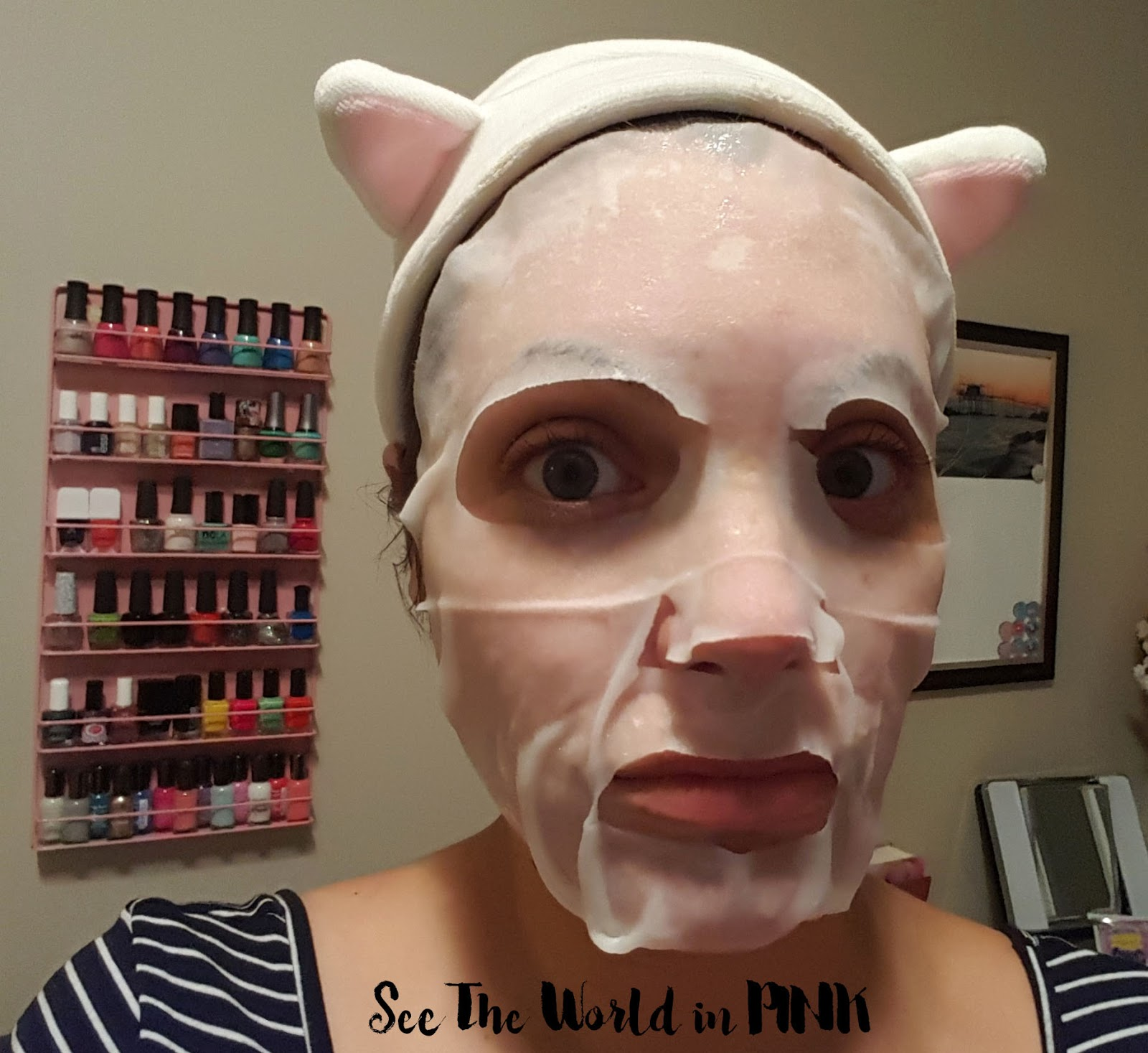 "Ariul Mood Maker Mask ""Nobody Knows Why I'm So Chic"""