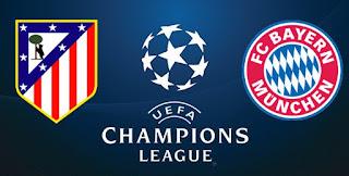 مشاهدة مباراة بايرن ميونيخ وأتلتيكو مدريد بث مباشر الثلاثاء 3-5-2016 اياب نصف نهائي دوري ابطال اوروبا 2016
