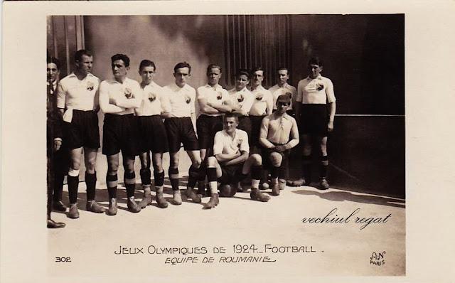 Echipa Romaniei de fotbal la Jocurile Olimpice 1924