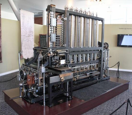 Mesin kalkulator otomatis pertama karya Charles Babbage