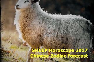 SHEEP Horoscope 2017 Chinese Zodiac Forecast