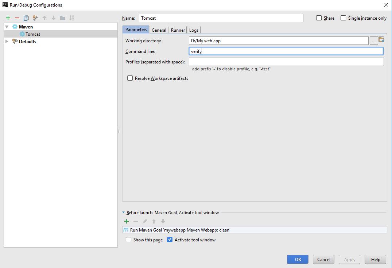 Tutorial: IntelliJ IDEA Community Edition with Tomcat deployment