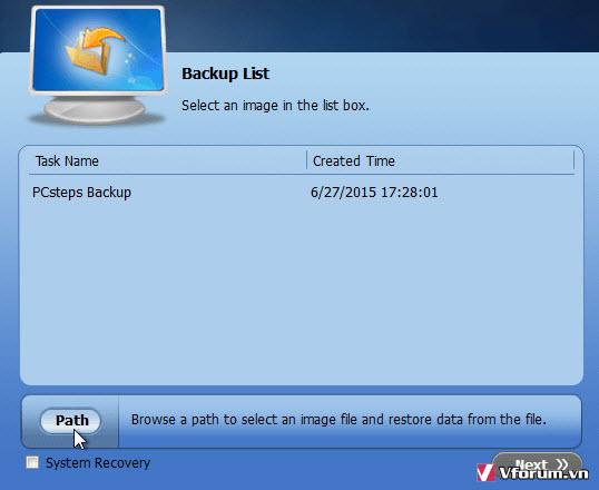 AOMEI Backupper - Phần mềm sao lưu dữ liệu Windows đơn giản và dễ sử dụng