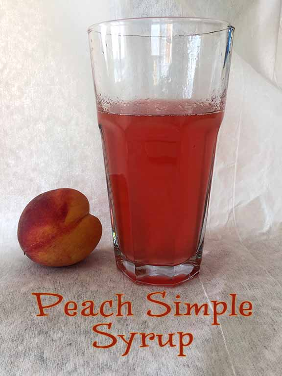 ... cold and hot. Simple syrup is also used to poach fruits, glaze