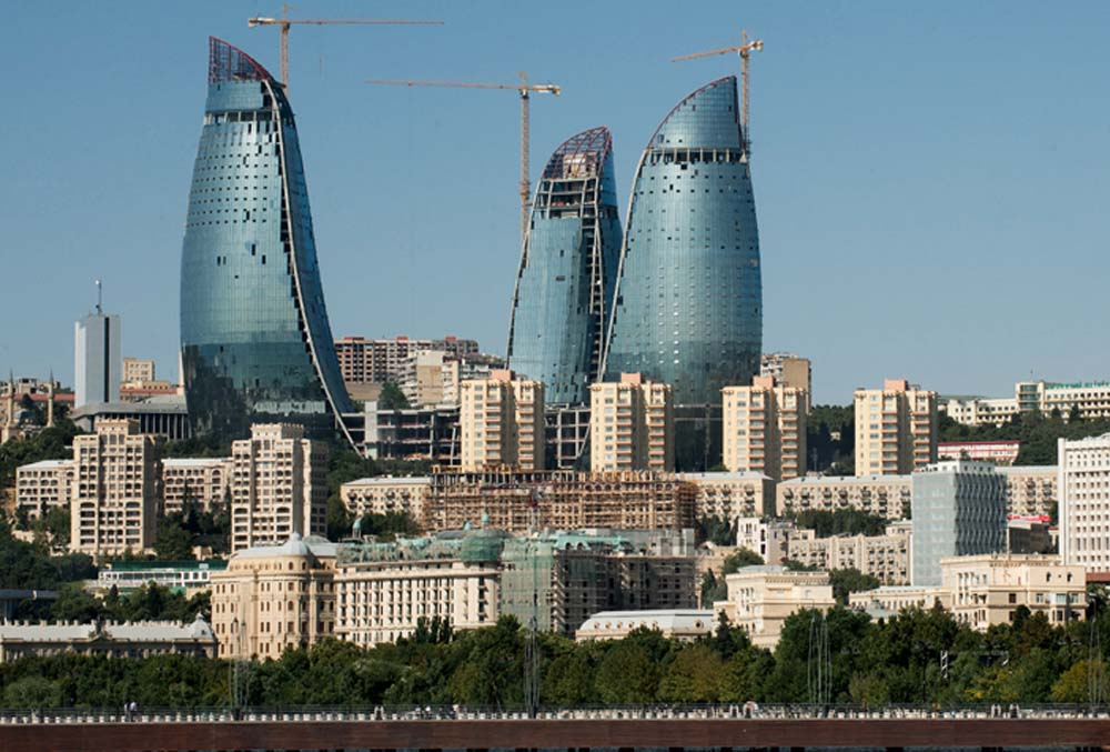 BAKU - CAPITAL DO AZERBAIJÃO