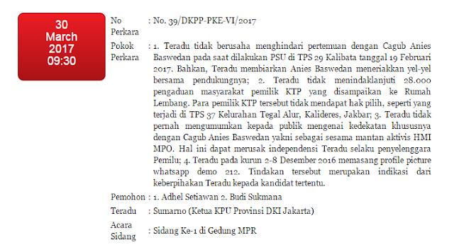 Perkara Nomor: 39/DKPP-PKE-VI/2017