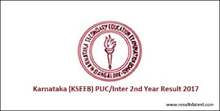 Karnataka Inter 2nd Year Result