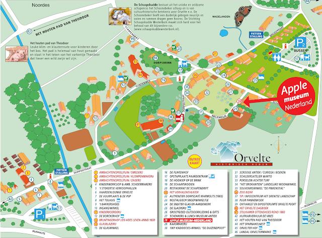 Orvelte Map Kaart