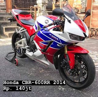 Jual Moge Bekas Honda CBR600RR Tahun 2014