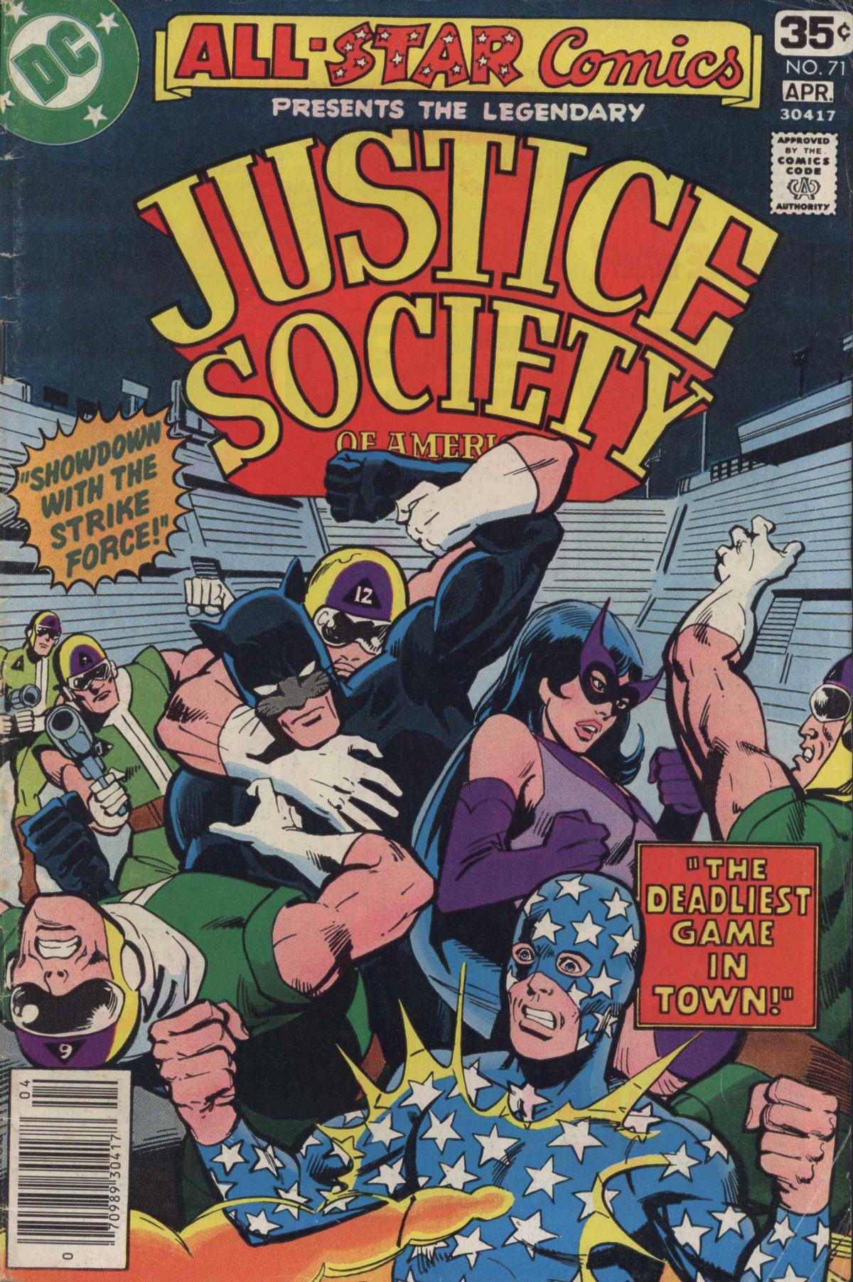 Read online All-Star Comics comic -  Issue #71 - 1