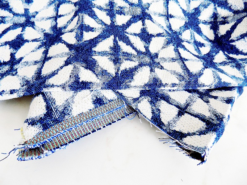 Shibori look fabric