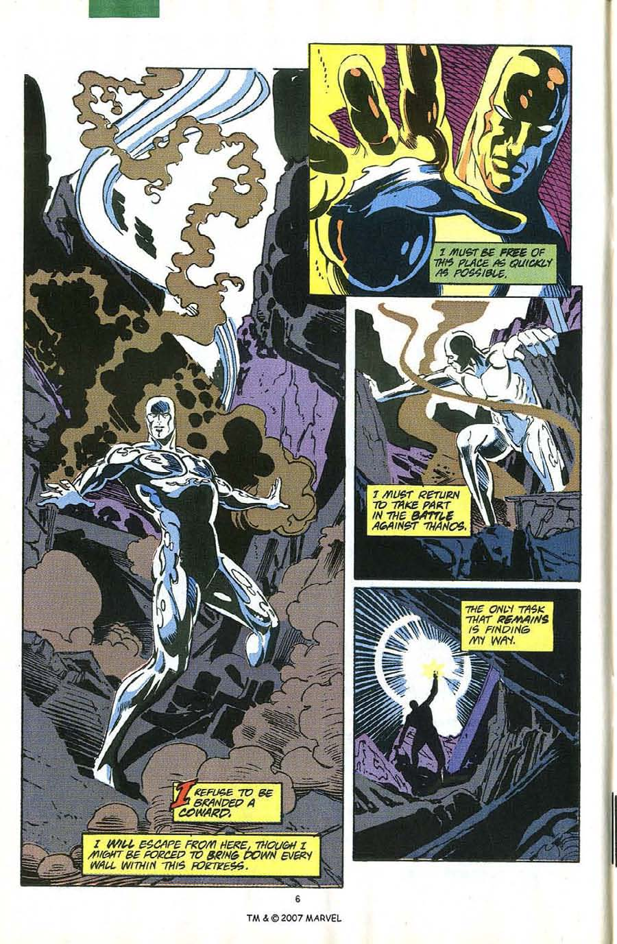 Read online Silver Surfer (1987) comic -  Issue #58 - 8