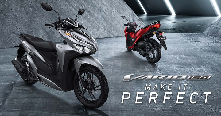 Setelah Di Facelift, Penjualan All New Honda Vario 125 Dan 150 Meningkat