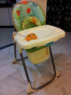 fisher price rainforest healthy care high chair 2 white salon baby preloved stuffs sold