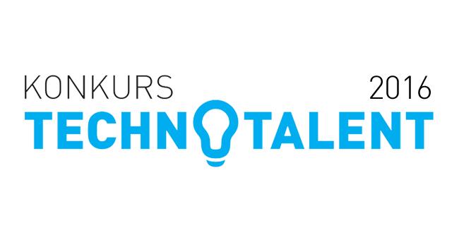 Logo konkursu Technotalent 2016