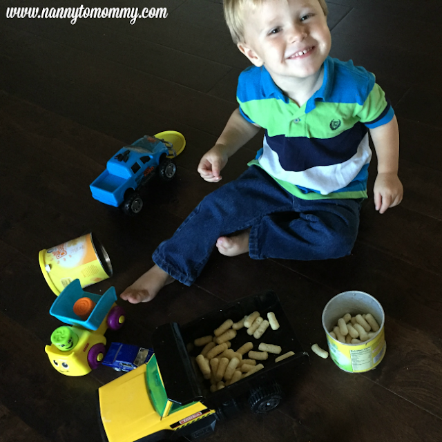 Easy On The Go Toddler Snack