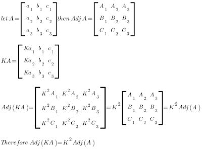 Adjoint-of-KA-matrix