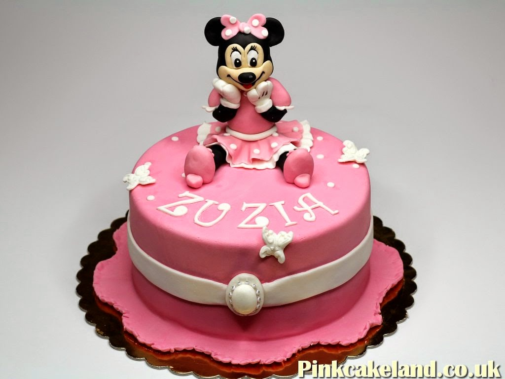 Minnie Mouse Cake, Barnet