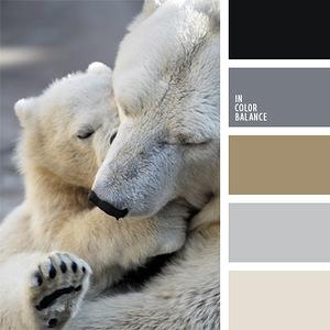 Животные - - гармоничные палитры в 5 цветов