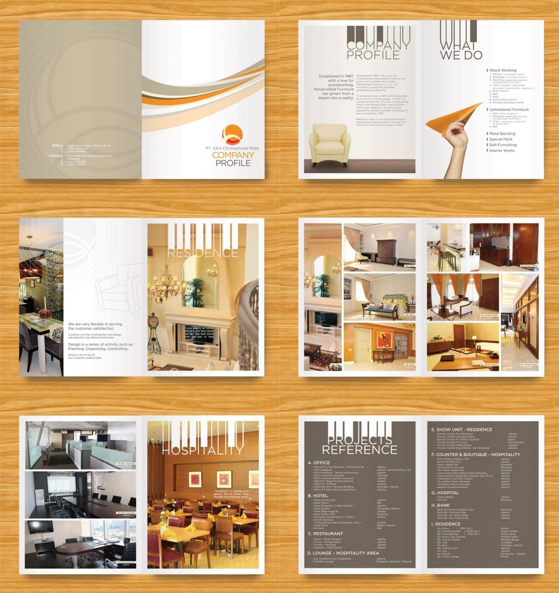 In profile công ty đẹp, hồ sơ năng lực, sách giới thiệu công ty