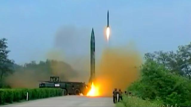 Corea del Norte Prueba de Misil