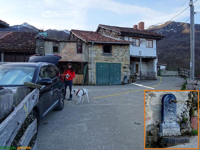 Primeros pasos por La Infiesta en el concejo asturiano de Caso.