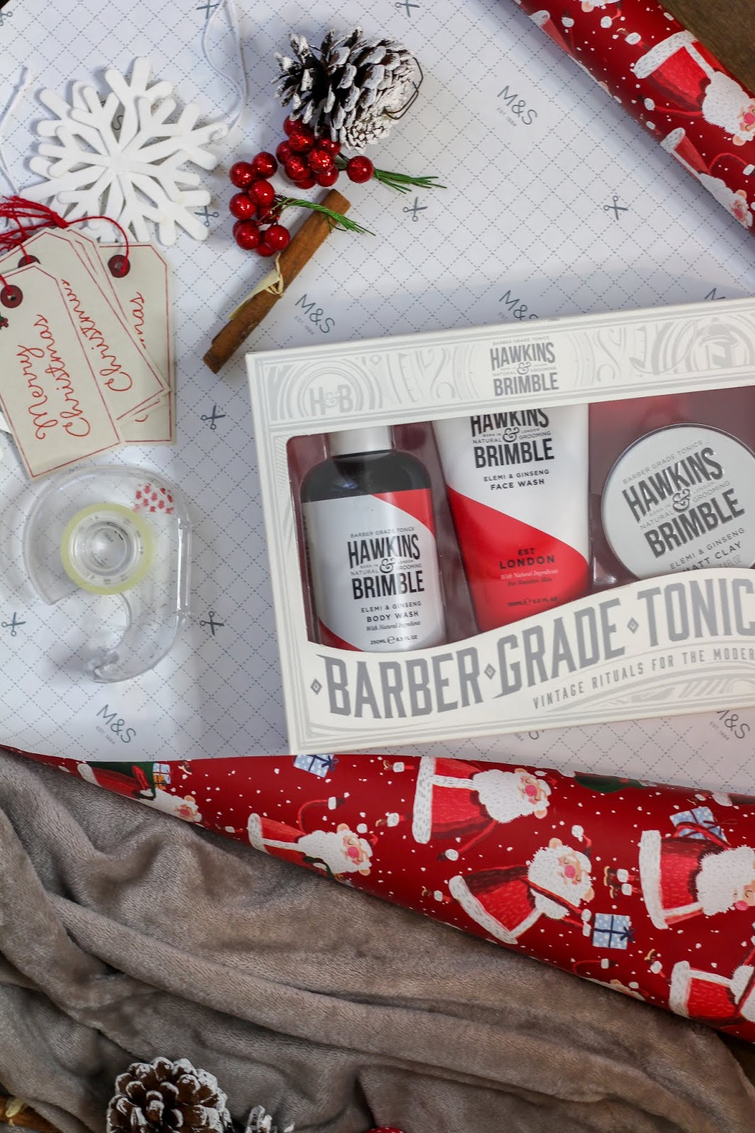 hawkins & brimble gift set christmas