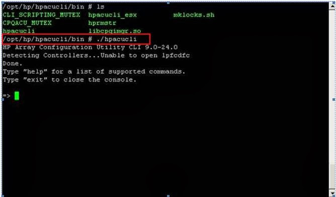 How to Generate HP ADU Disk Report in ESXi host