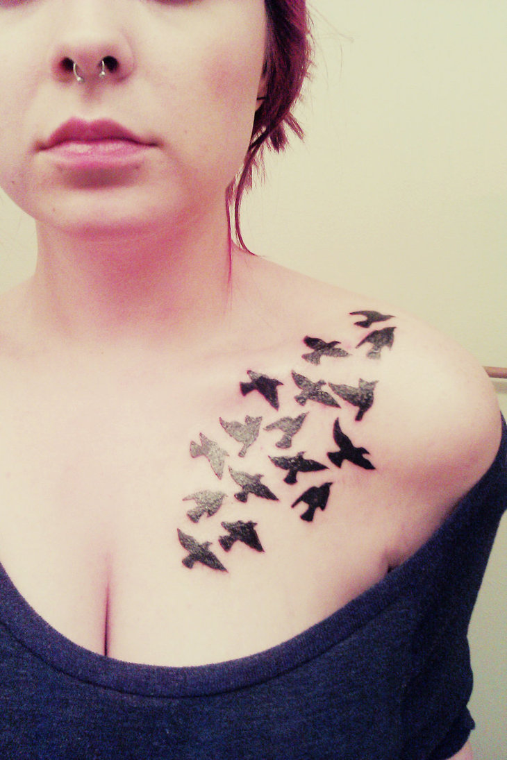 Tattoo Designs Wallpaper: Bird Tattoos