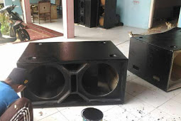 Skema ukuran box speaker model martin 18x2 low