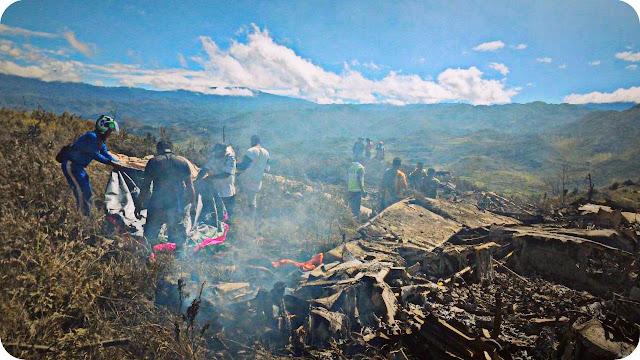 Pangkoops AU Pimpin Evakuasi Korban Pesawat Hercules di Gunung Lisuwa