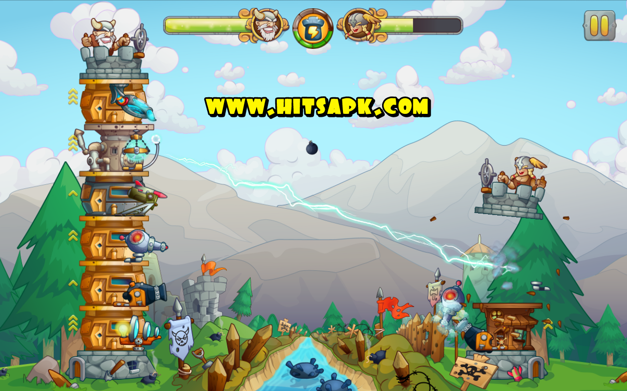 Tower Crush MOD APK terbaru