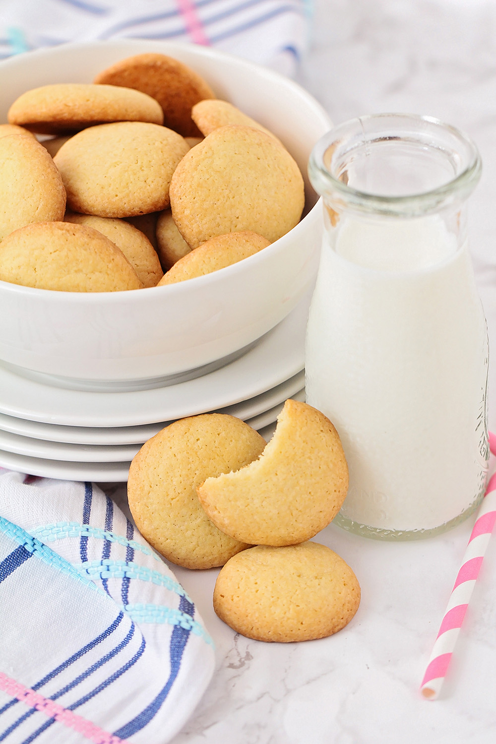 These homemade nilla wafers are way easier to make than you might think, and even more delicious than the original!