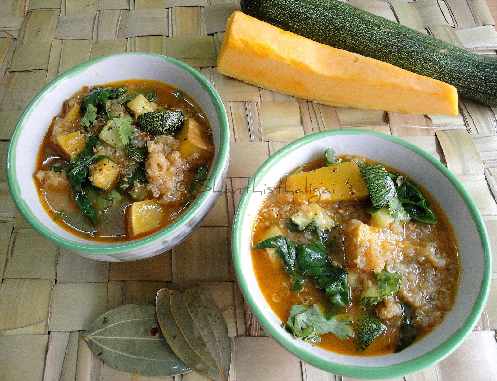 How to make Quinoa veggies soup?