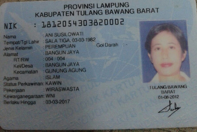 Dicari!!! Keluarga Ibu Ani Warga Tubabar Lampung Ditinggal Sakit di Jawa Tengah
